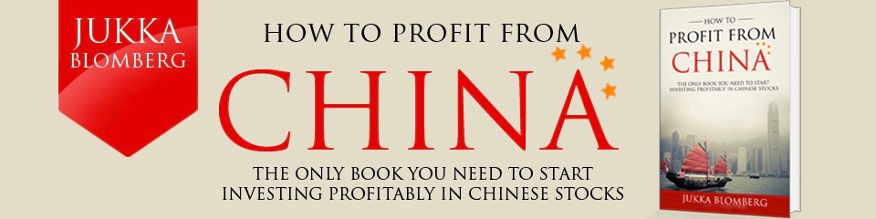 How to Profit from China book promotional banner